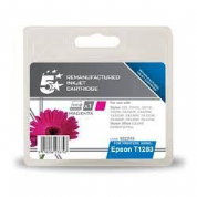 5 Star Epson T1283 Magenta Compatible Ink Cartridge - 932249